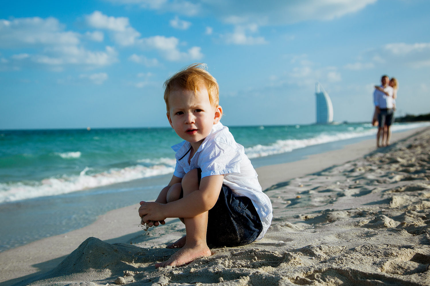 Family Photography In Dubai , Beach